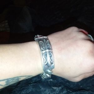 Jewelry - Chrome Hearts Hertz floral vintage bracelet